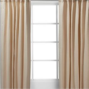 Zgallerie curtains NWT - Jude panels/ champagne